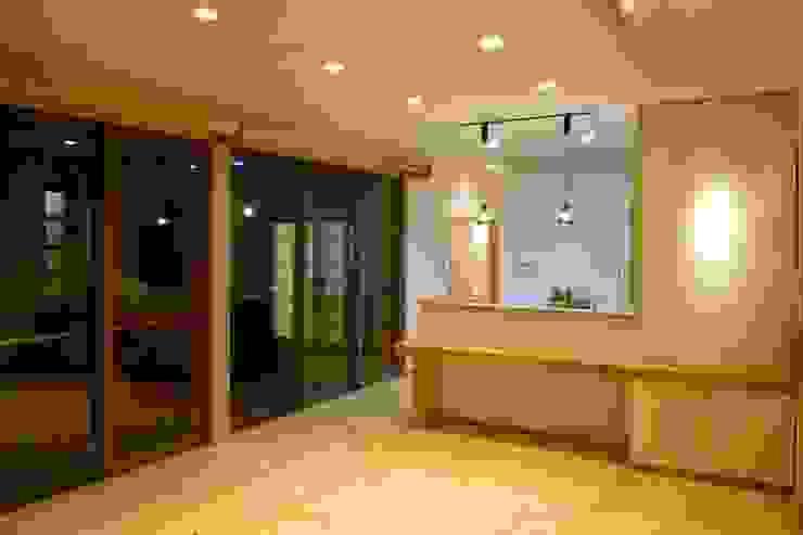 ダイニング 和風デザインの ダイニング の 石井設計事務所/Ishii Design Office 和風 木 木目調