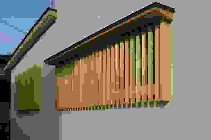 外観 アジア・和風の 窓&ドア の 石井設計事務所/Ishii Design Office 和風 木 木目調