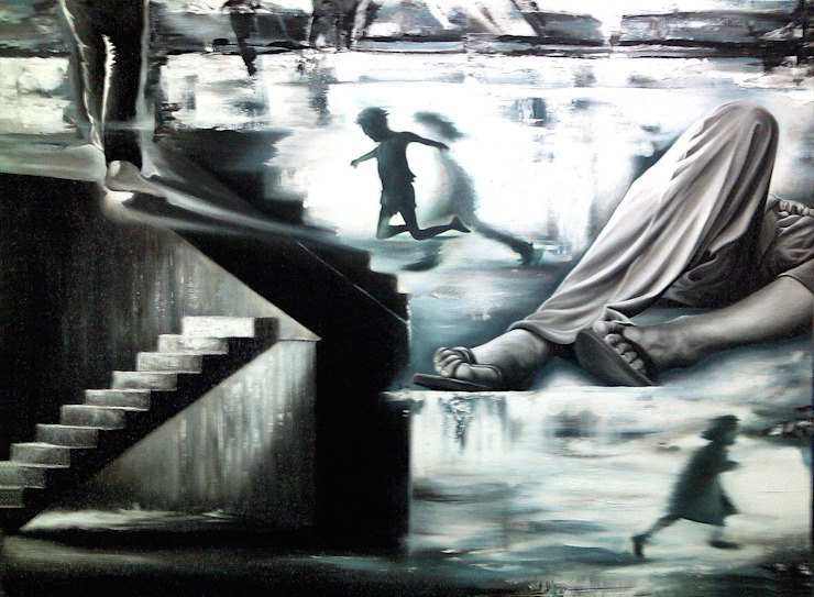 Persistence of Consciousness by JEONG-AH ZHANG 장정아 Modern