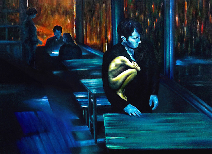 A Deep Silence by JEONG-AH ZHANG 장정아 Modern