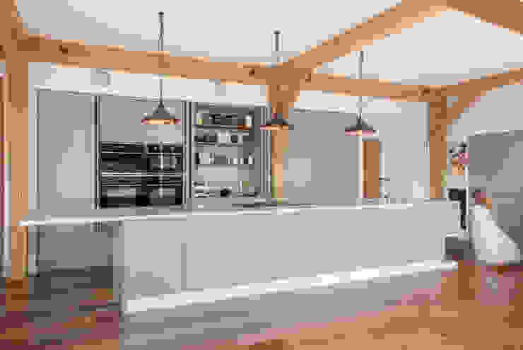 kitchen Modern kitchen by A-ZERO architects Modern