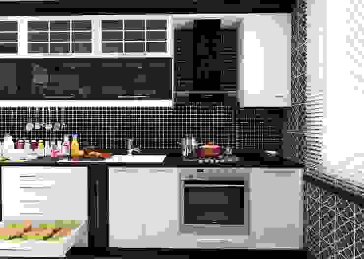 GN İÇ MİMARLIK OFİSİ – iç mimari tasarım mutfak: modern tarz , Modern