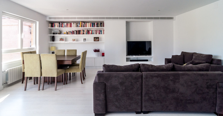 Living room by estudio551, Modern