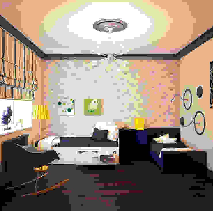 Calm,cute and colorful Детские комната в эклектичном стиле от Marina Sarkisyan Эклектичный