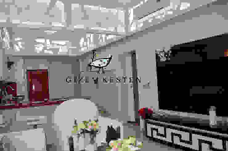 Gizem Kesten Architecture / Mimarlik Modern living room