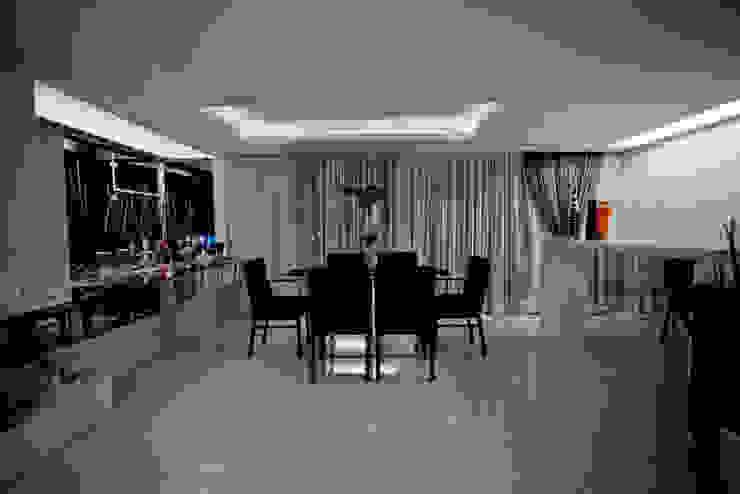 Apartamento E&E.S - Sala de Jantar Salas de jantar modernas por Kali Arquitetura Moderno