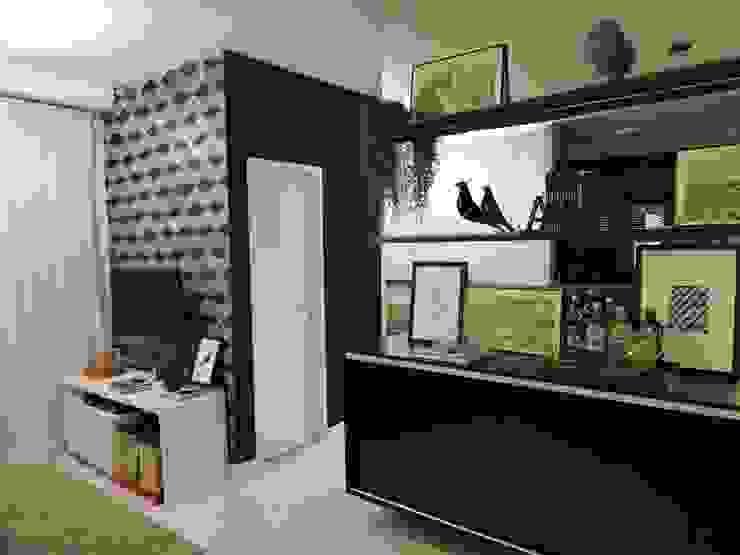 apartamento WB:  industrial por SPOT161 arquitetura + design,Industrial