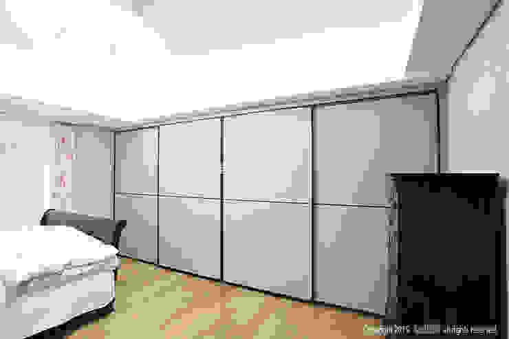 Moderne Schlafzimmer von MID 먹줄 Modern