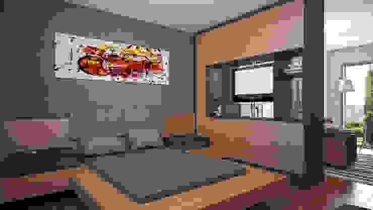 URLA VILLA PROJESI Modern Yatak Odası FARGO DESIGNS Modern