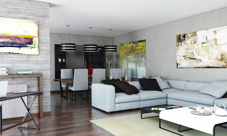 Salas modernas de FARGO DESIGNS Moderno