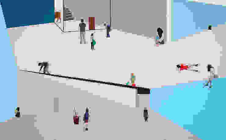 의식의 흐름 by artist bomin