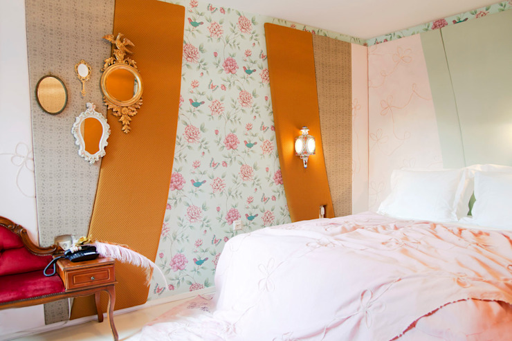 Marie Antoinette Eclectische hotels van Roos Soetekouw Design Eclectisch