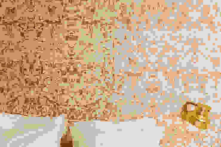 Mattressroom deluxe Eclectische hotels van Roos Soetekouw Design Eclectisch