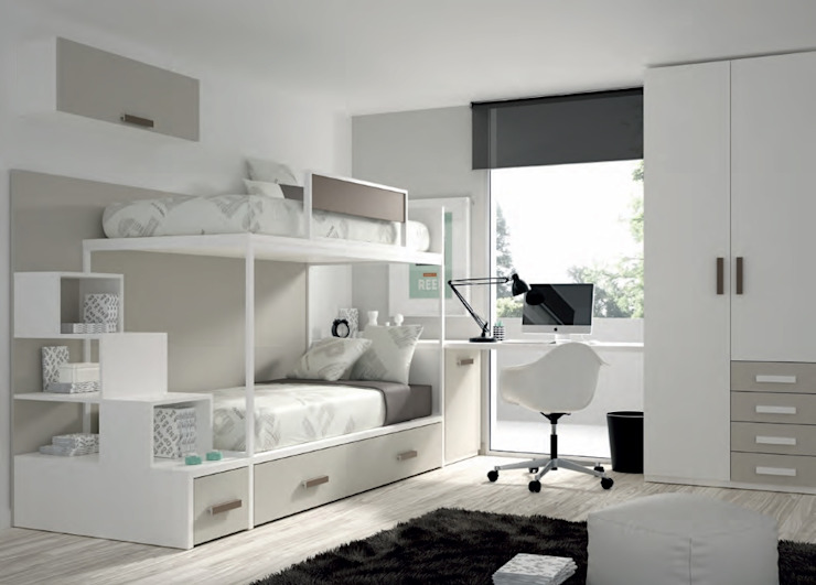 Bedroom by MUEBLES DUERO