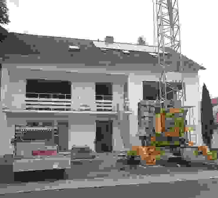 Bestand während der Abbrucharbeiten Architekturbüro Kirchmair + Meierhofer