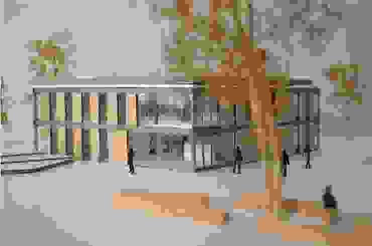 Maquette schetsontwerp: modern  door Hoope Plevier Architecten, Modern