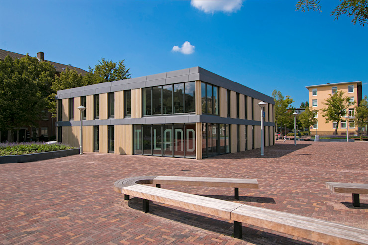 Zuidoostgevel Moderne evenementenlocaties van Hoope Plevier Architecten Modern