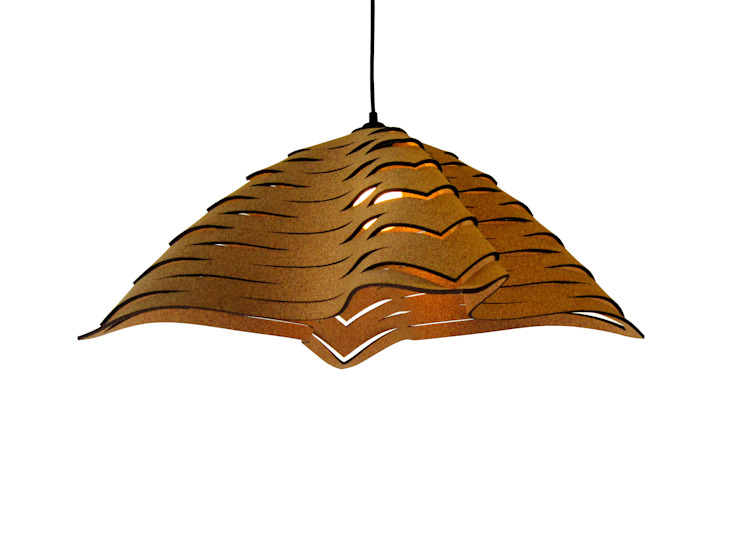 Tonatiuh- Corkmatters pendant lamp van Tiago Sa da Costa Studio Mediterraan