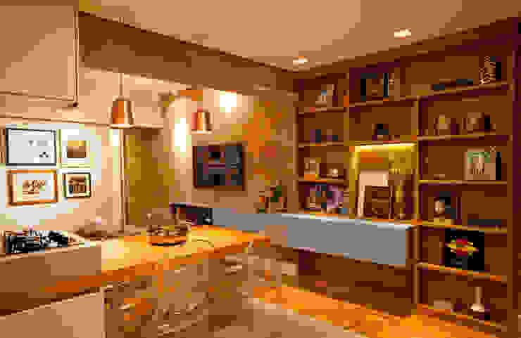 Apartamento Alameda Jaú Salas de jantar modernas por studio scatena arquitetura Moderno