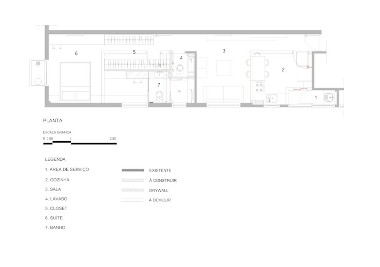 modern oleh studio scatena arquitetura, Modern