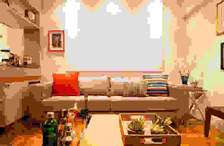 Apartamento Alameda Jaú Salas de estar modernas por studio scatena arquitetura Moderno