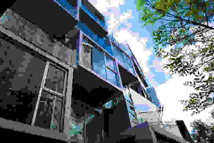 Atenas 40 Casas modernas de Craft Arquitectos Moderno