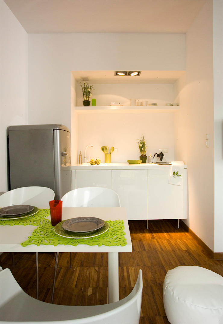 Studio Skandynawska kuchnia od lehmanndesign Skandynawski