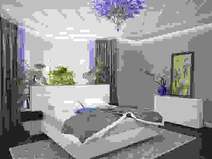 """Спальня """"Ирисы"""" Спальня в эклектичном стиле от LD design Эклектичный"""