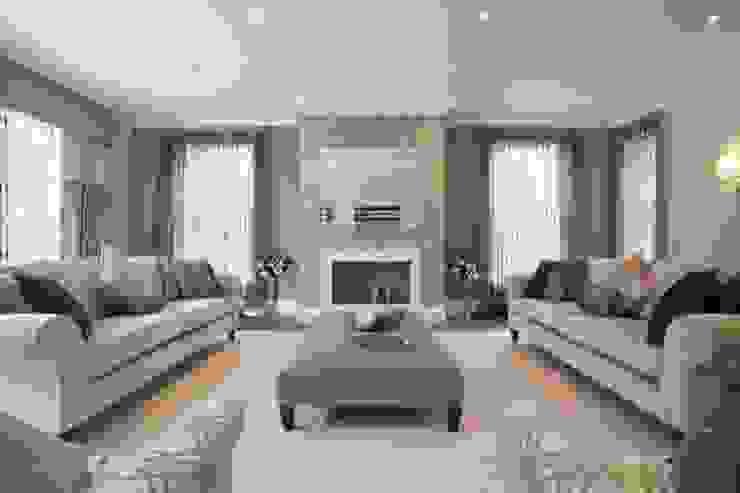 Park House, Living Room por Pygmalion Interiors Moderno