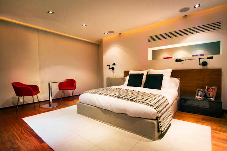 Modern style bedroom by Concepto Taller de Arquitectura Modern