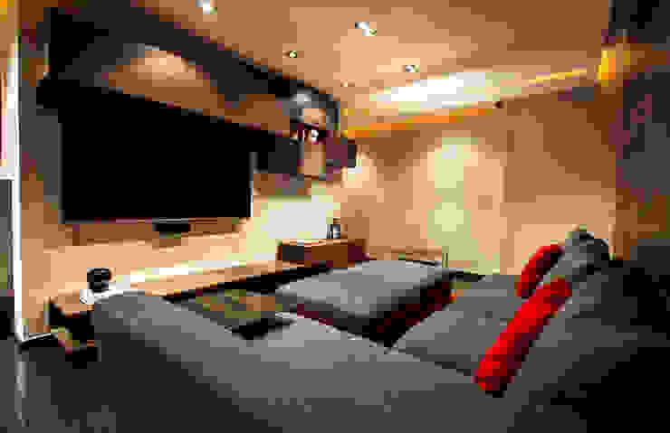 Media room by Concepto Taller de Arquitectura, Modern