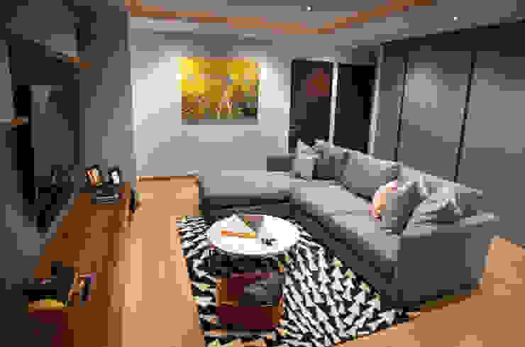 Modern media room by Concepto Taller de Arquitectura Modern