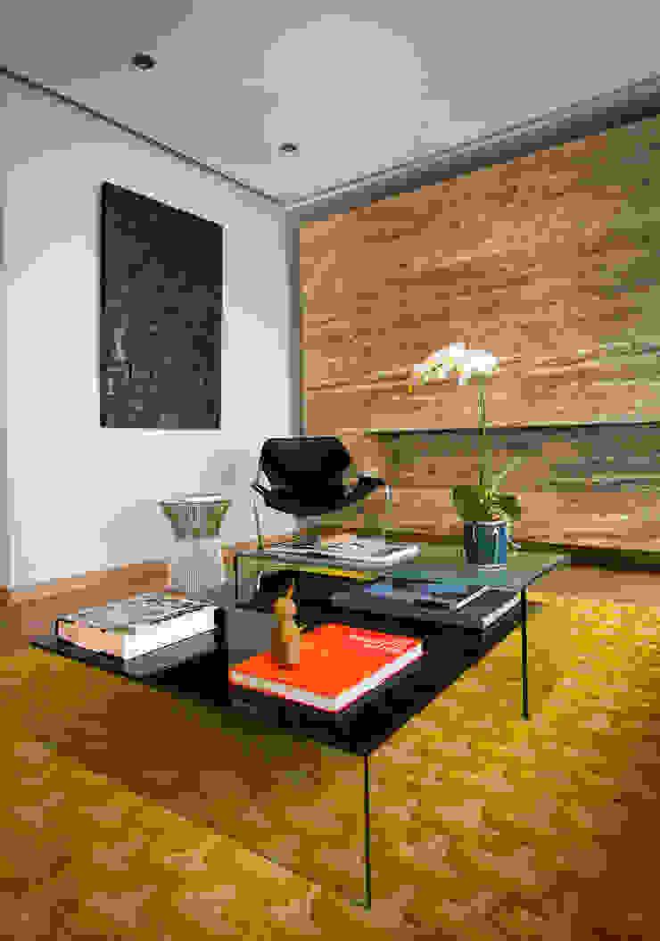 Ruang Keluarga Modern Oleh Concepto Taller de Arquitectura Modern