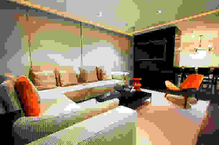 ห้องนั่งเล่น โดย Concepto Taller de Arquitectura, โมเดิร์น