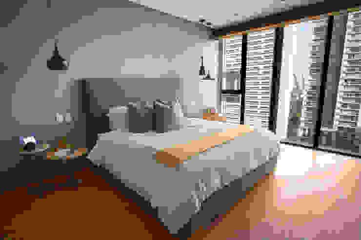 Departamento DG Dormitorios modernos de Concepto Taller de Arquitectura Moderno