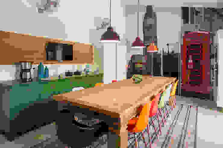 Marcos Contrera Arquitetura & Interiores Cocinas de estilo rústico