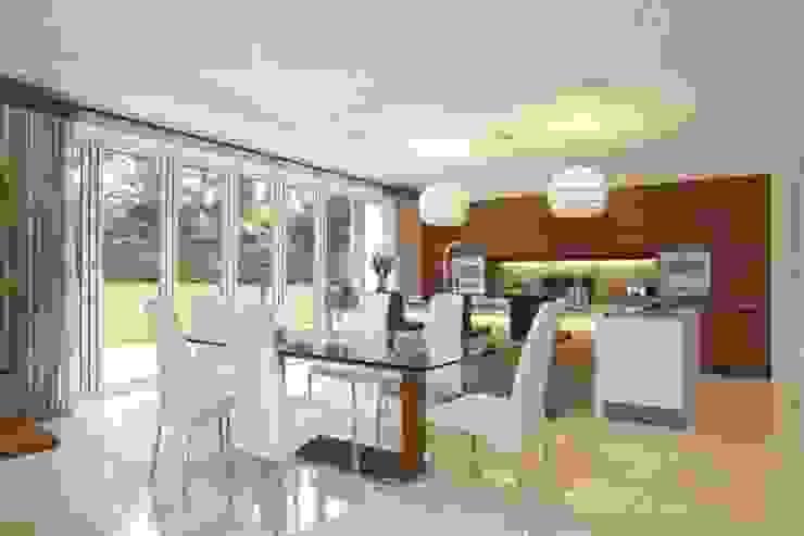Park House, Kitchen Dining Area de Pygmalion Interiors Moderno