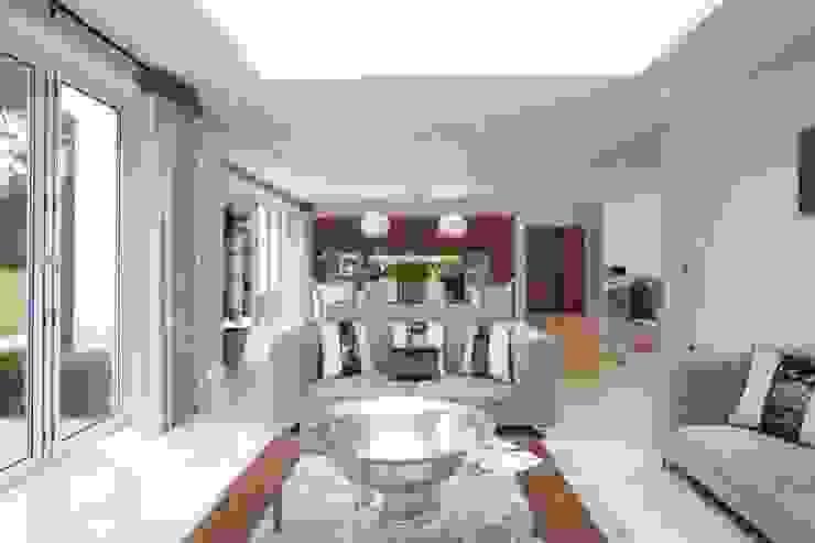 Park House, Kitchen Seating Area de Pygmalion Interiors Moderno