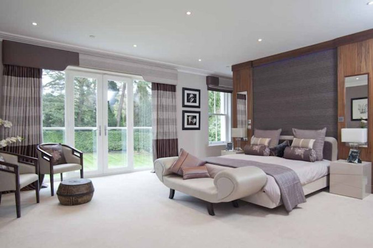 Park House, Bedroom de Pygmalion Interiors Moderno