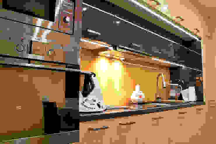 mała kuchnia dla dużej rodziny Nowoczesna kuchnia od Patyna Projekt Nowoczesny