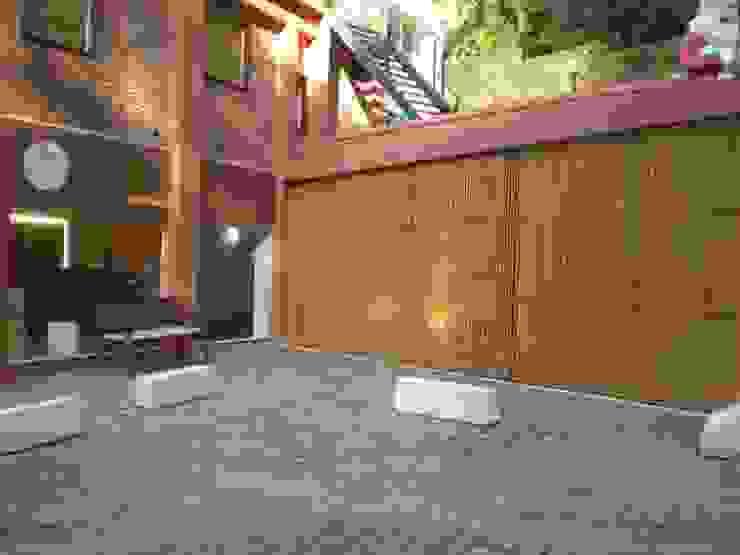 Bambu Rei Eco-Design Pusat Perbelanjaan Gaya Rustic