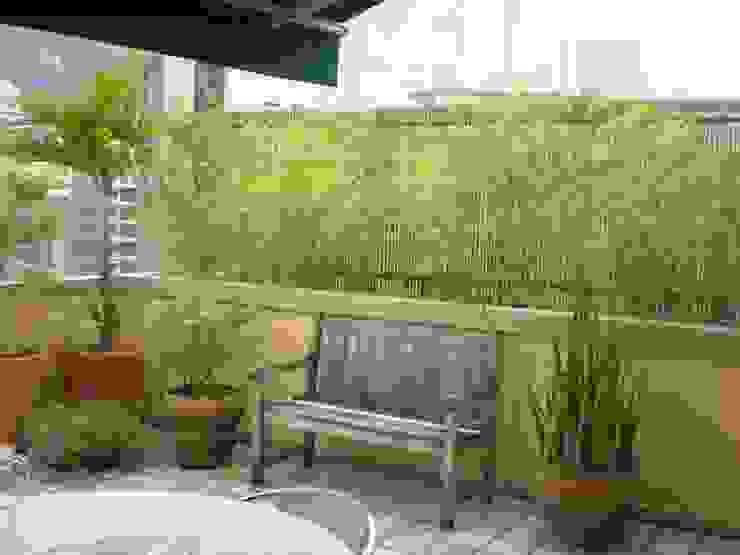 러스틱스타일 정원 by Bambu Rei Eco-Design 러스틱 (Rustic)