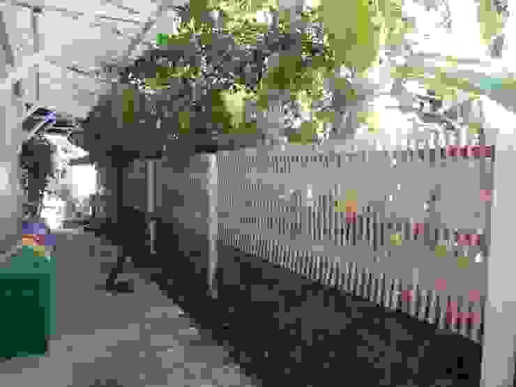 Casas rústicas por Bambu Rei Eco-Design Rústico