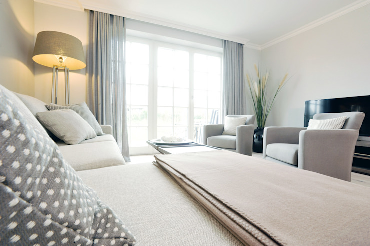 SALLIER WOHNEN SYLT Modern Living Room