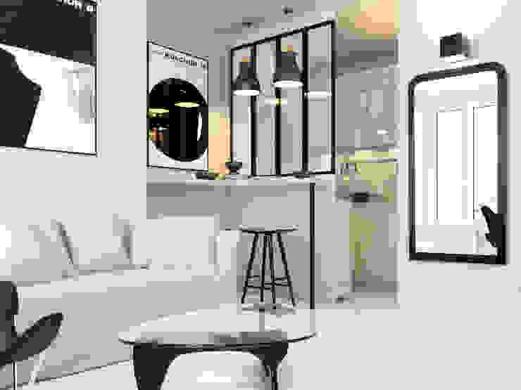 Kitchen by Agence KP, Modern Glass