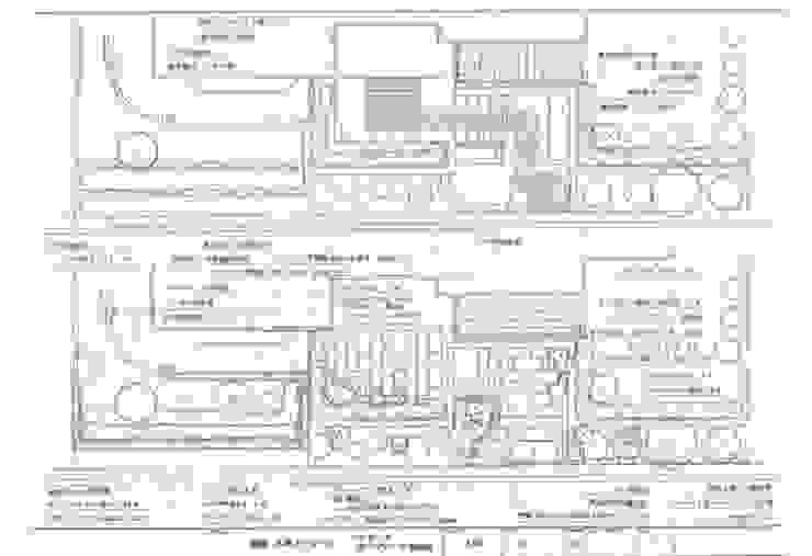 ファサード平面図: アーテック・にしかわ/アーテック一級建築士事務所が手掛けたカントリーです。,カントリー