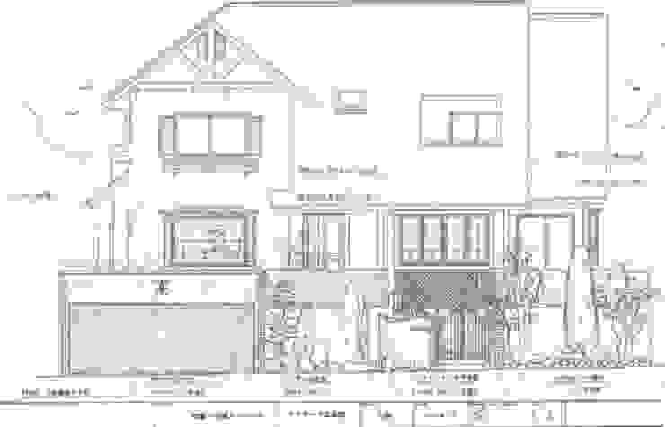 立面図: アーテック・にしかわ/アーテック一級建築士事務所が手掛けたカントリーです。,カントリー