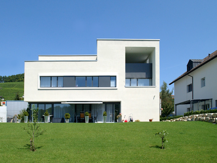 Modern Houses by 5 Architekten AG Modern