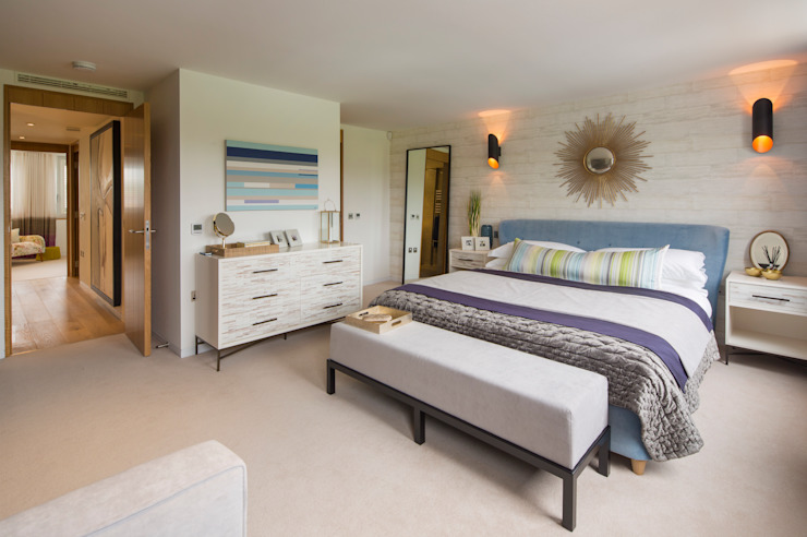 Argyll Place - Master Bedroom: modern  by Jigsaw Interior Architecture , Modern