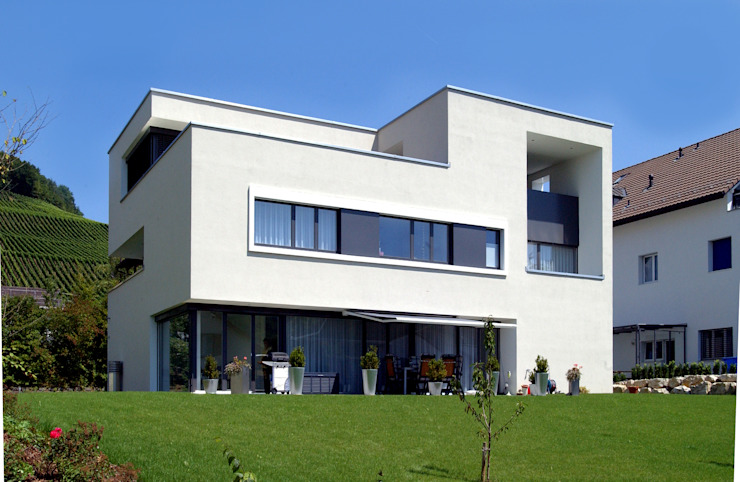 Modern Houses by 5 Architekten AG Modern